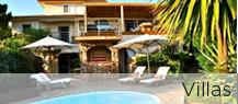 Villas en location saisonnière